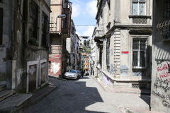 Fener District in Istanbul Royalty Free Stock Image