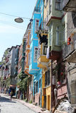 Fener District in Istanbul Royalty Free Stock Photos