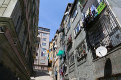 Fener District in Istanbul Stock Photo