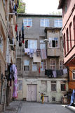 Fener District in Istanbul Stock Image