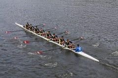 Fenerbahçe Rowining of  Istanbul Turkey races in the Head of Charles Regatta Stock Photos