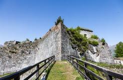 Fenestrelle Abandoned Fort Stock Image
