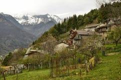 Fenestrelle, Piedmont, Ιταλία στοκ εικόνες
