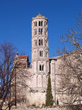 Fenestrelle Tower, Saint-Theodorit Cathedral in Uzes Royalty Free Stock Images