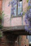 Fenetre, collonges-La-Rouge (Frankrijk) Stock Afbeelding