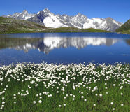 Fenetre Lakes 5, European Alps stock photo