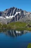 Fenetre Seen 8, europäische Alpen Lizenzfreies Stockbild