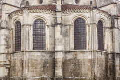 Fenetres de Vezelay Fotografía de archivo