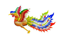 Feng Huang Chinese Phoenix Stockfotos