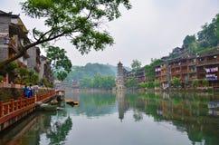 Feng Huang Old-stad stock afbeeldingen