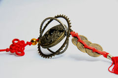 Feng-shui. Amulet from asia, fengshui art stock image