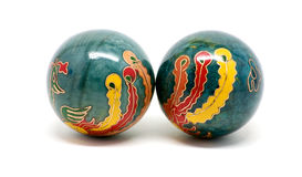 Feng Shui balls Stock Images