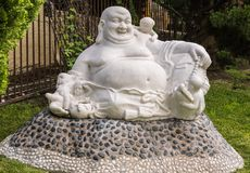 Feng Shui Buddha en su Lai Buddhist Temple, California Fotos de archivo libres de regalías