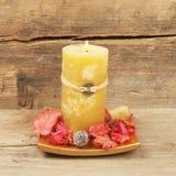 Feng Shui candle Stock Image