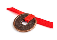 Feng shui coins Stock Image