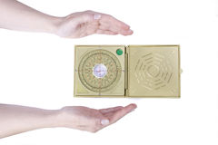 Feng shui compass Stock Images