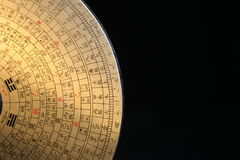Feng Shui Compass. Feng Shui is an ancient Chinese practice believed to utilize the Laws of both heaven (astronomy) and earth (geography) to help one improve Stock Image