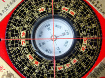 Feng shui compass Stock Photos