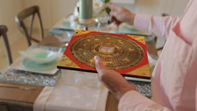 Feng shui compass stock video
