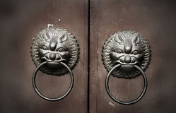 Feng Shui Door Knocker Royalty Free Stock Photo