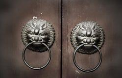 Feng Shui Door Knocker Royalty Free Stock Photo