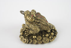 Feng shui frog. Chinese frog used for feng shui ,the frog bring you money and succes stock image