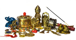 Feng Shui items Royalty Free Stock Image