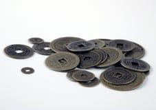 Feng shui Münzen stockbild