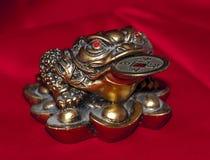 Feng Shui Money Frog Foto de archivo libre de regalías