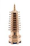 Feng Shui. Pagoda en bronze photo stock