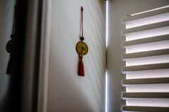 Feng shui rzecz na nadokiennym parapecie Zdjęcie Stock