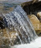 Feng Shui, the stones in the water Stock Image