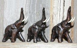Feng shui szczęścia słonie Obrazy Royalty Free
