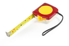 Feng Shui Tape measure. Or Tape rule on white background royalty free stock photography