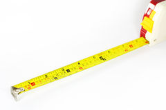 Feng Shui Tape Rule. Feng Shui Tape measure or Tape rule on white background royalty free stock image