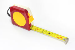 Feng Shui Tape Rule. Feng Shui Tape measure or Tape rule on white background stock photo