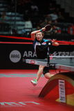 FENG Tianwei. From Singapor. World table tennis championships in Dusseldorf. 29 May 6 june 2017 Royalty Free Stock Images