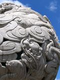 Feng Ze Monument. Monument with dragons in Feng Ze square in Quanzhou, China Royalty Free Stock Images