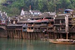 fenghuang城镇 免版税库存图片