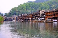 fenghuang城镇 库存照片