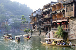 Fenghuang Ancient City Royalty Free Stock Photos