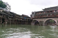 Fenghuang ancient city Stock Images