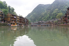 Fenghuang ancient city Stock Photo