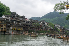Fenghuang ancient city Stock Photography