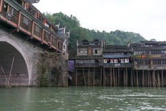 Fenghuang ancient city Royalty Free Stock Images