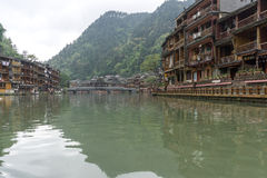 Fenghuang ancient city Stock Photos
