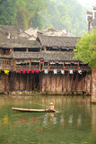 Fenghuang ancient town in China Stock Photo
