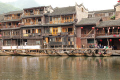 Fenghuang ancient town in China Stock Image