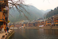 Fenghuang ancient town,china Stock Photography
