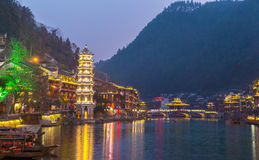 Fenghuang ancient town China Stock Images